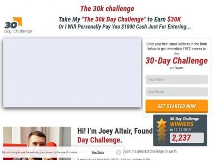 30k Challenge Is it scam?