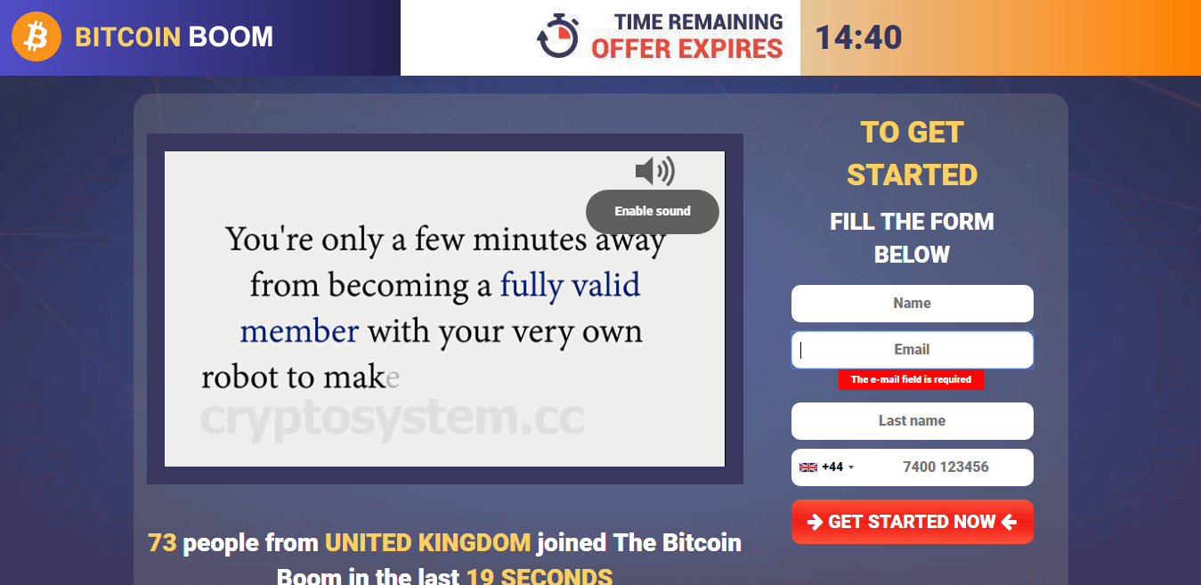 Bitcoin Boom Is it scam?