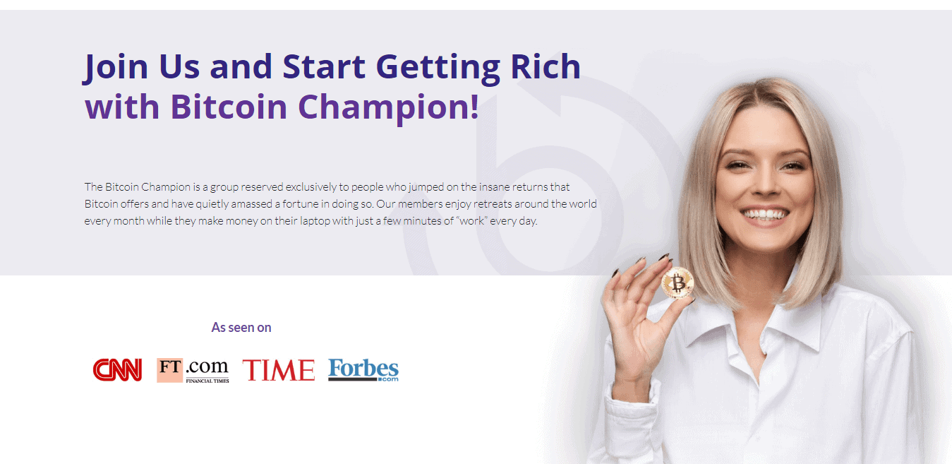 Bitcoin Champion How to register? How to open an account?