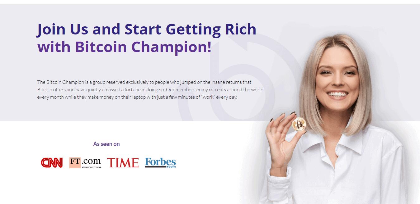 Bitcoin Champion Come registrarsi? Come aprire un account?