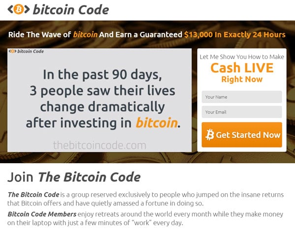 Bitcoin Code How to register? How to open an account?