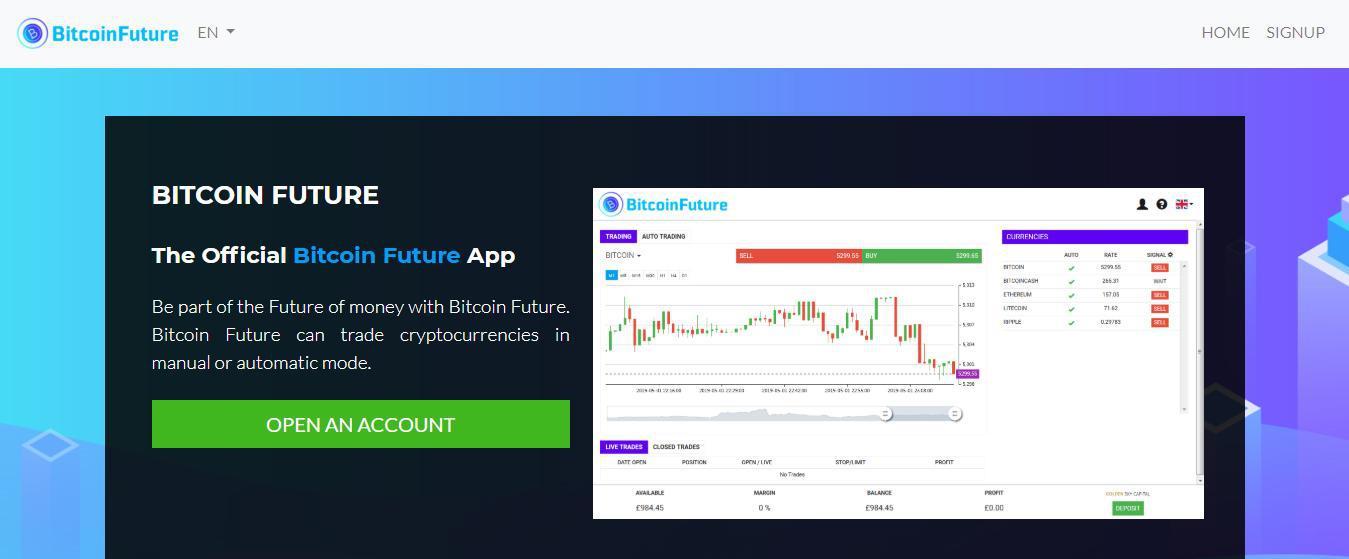 Bitcoin Future Is it scam?