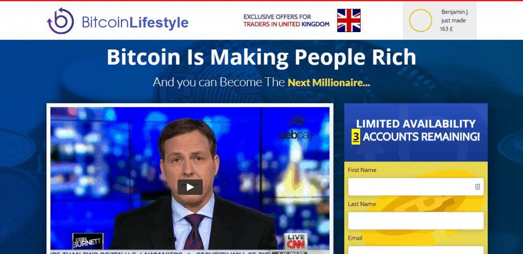 Bitcoin Lifestyle Is it scam?