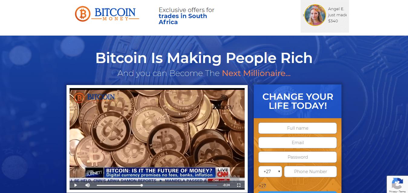 Bitcoin Money Hur man skall registrera? Hur öppnar jag ett konto?