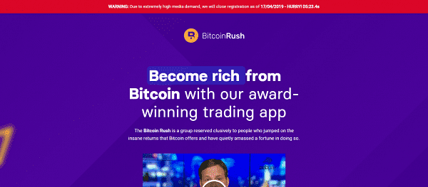 Bitcoin Rush How to register? How to open an account?