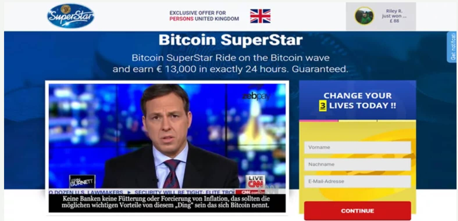 Bitcoin Superstar Is it scam?
