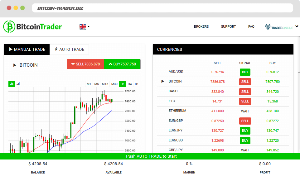 Bitcoin Trader Is it scam?