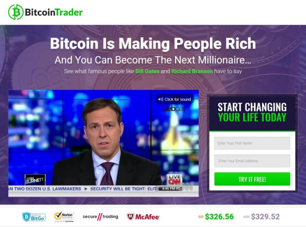 Bitcoin Trader How to register? How to open an account?