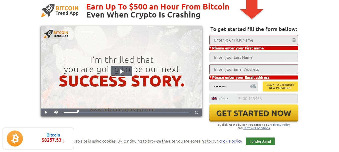 Bitcoin Trend App Is it scam?