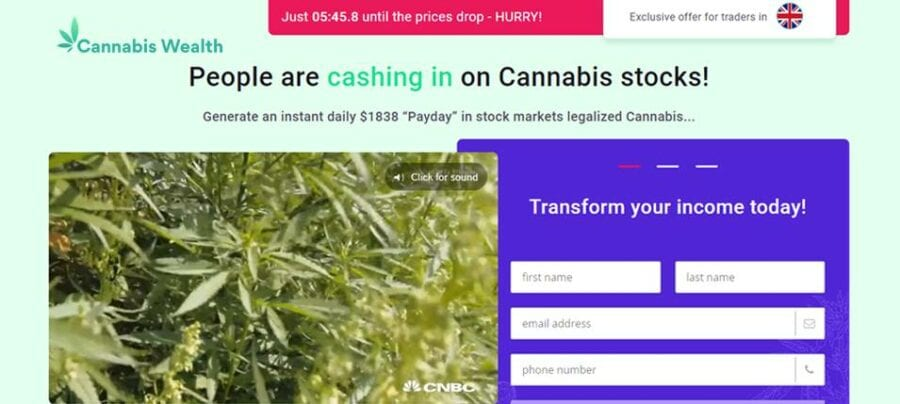 Cannabis Wealth Is it scam?