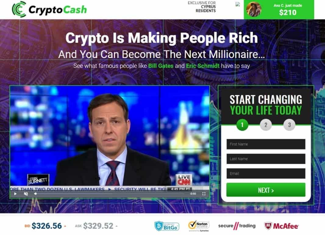 Crypto Cash How to register? How to open an account?