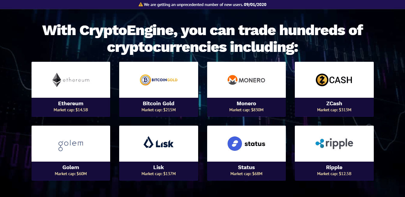 Crypto Engine How to register? How to open an account?