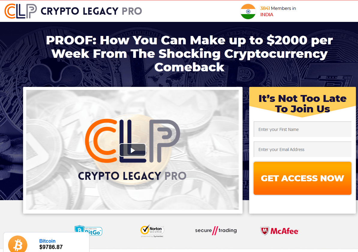 Crypto Legacy Pro Is it scam?