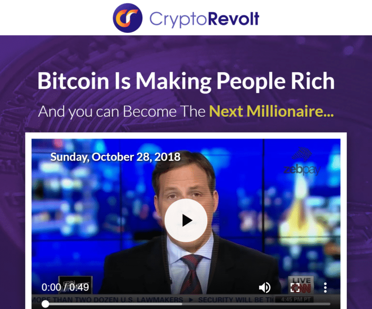 Crypto Revolt How to register? How to open an account?