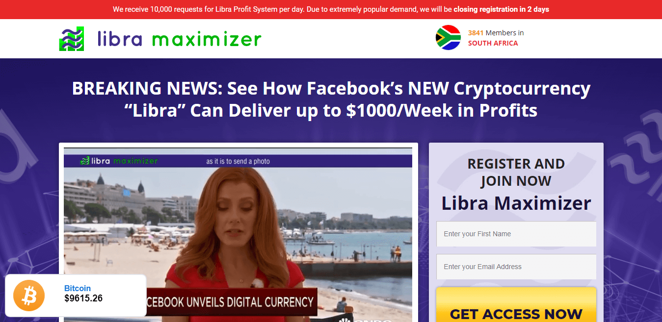 Libra Maximizer How to register? How to open an account?