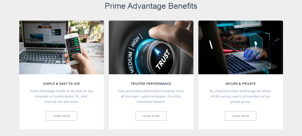 Prime Advantage Come registrarsi? Come aprire un account?