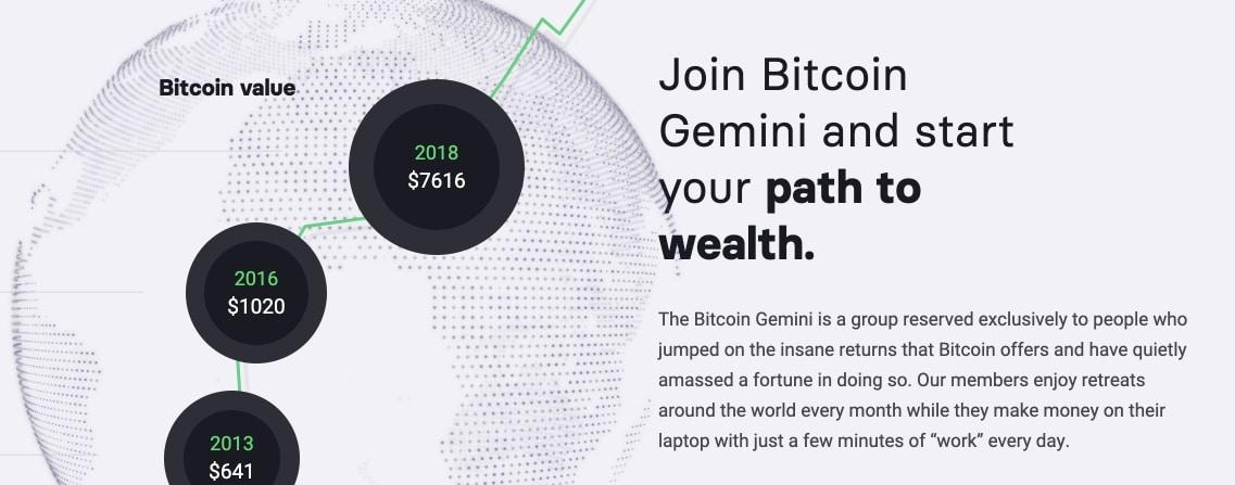 Bitcoin Gemini Är det bluff?