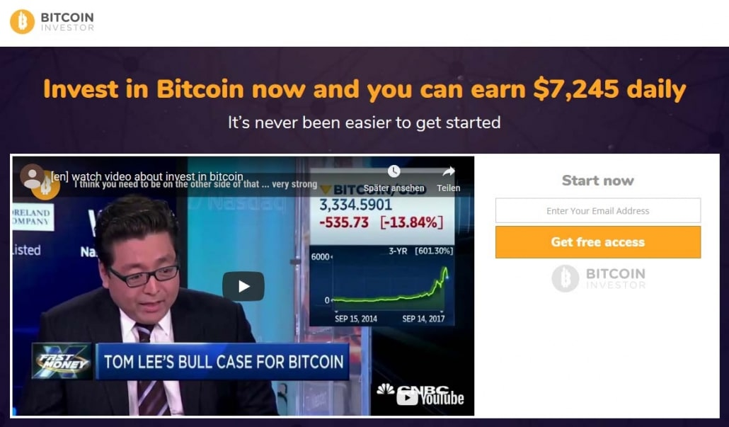 Bitcoin Investor Is it scam?