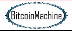 Bitcoin Machine Kaj je to? Indikacije