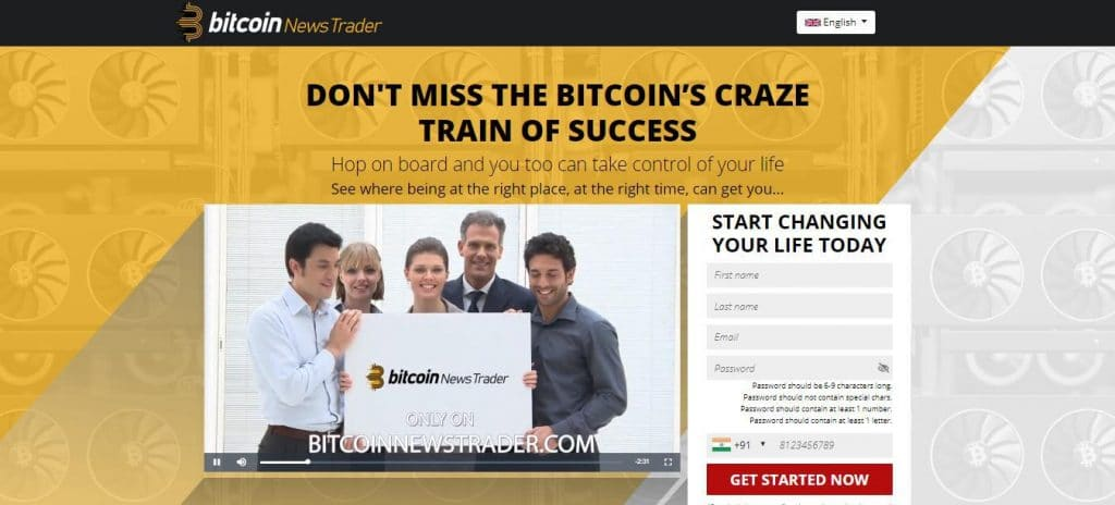 Bitcoin News Trader Is it scam?