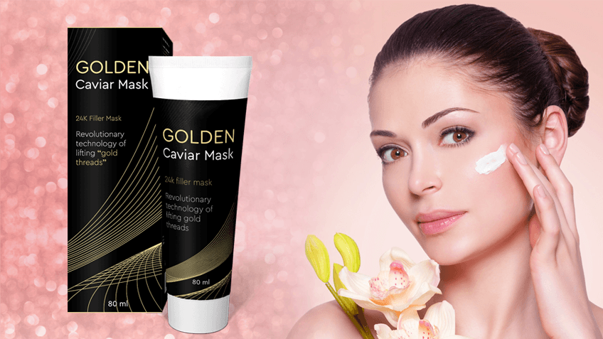 Golden Caviar Mask Structure