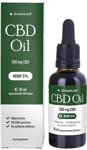 Green Leaf CBD Oil What is it? Indications