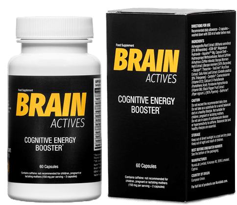Brain Actives Co je to? Indikace