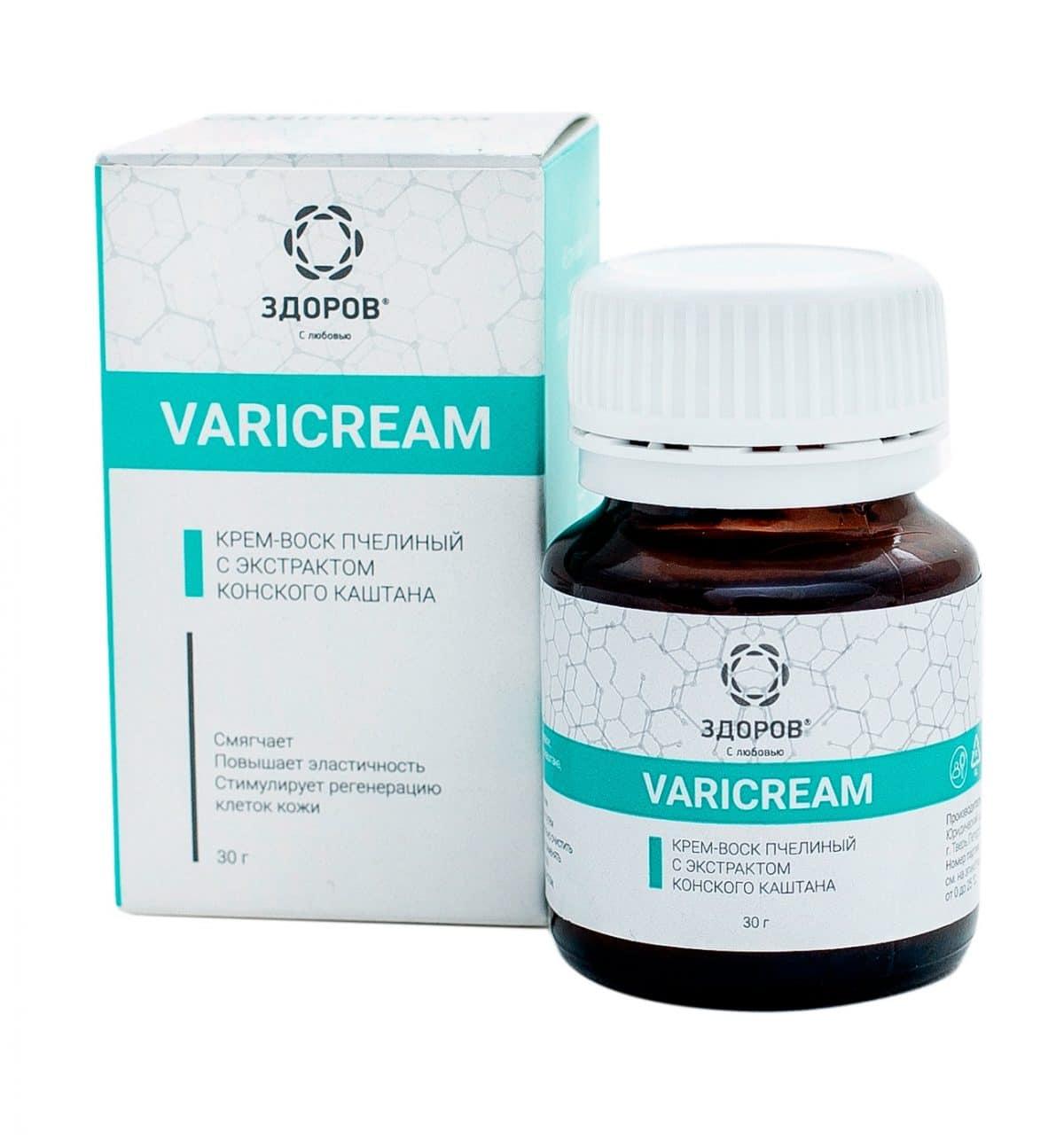 VariCream What is it? Indications