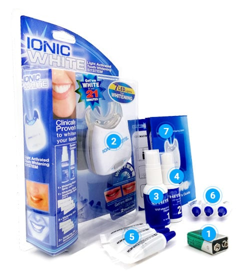 IonicWhite What is it? Indications